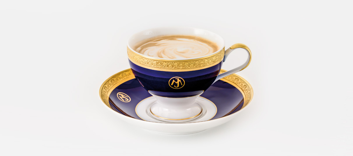 Cup and saucer President